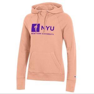 New York University NYU Pullover Sweater Hoodie